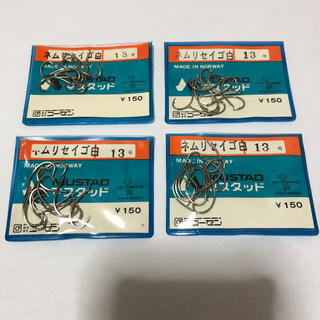 ゴーセン(GOSEN)のマスタッド製 ネムリセイゴ  13号4袋セット  定価1袋150円 (釣り糸/ライン)