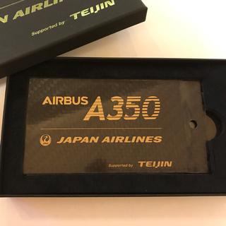 ジャル(ニホンコウクウ)(JAL(日本航空))のJAL エアバス350 限定バック用ネームタグ(旅行用品)