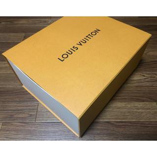 ルイヴィトン(LOUIS VUITTON)のVUITTON ルイヴィトン 空箱 大サイズ49.9cm×32.9cm×19cm(リビング収納)
