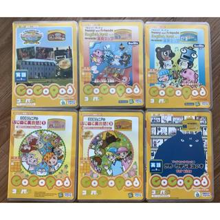 セガ(SEGA)のセガトイズ ココパッド 英語ソフト6本(知育玩具)