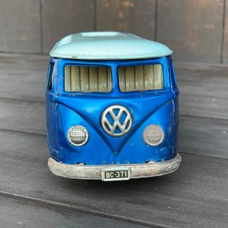 バンダイ(BANDAI)の古いブリキのおもちゃ フォルクスワーゲンバス (バンダイ1955〜1959製造)(その他)