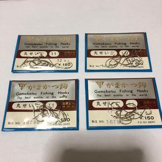 ガマカツ(がまかつ)のがまかつ 製 丸せいご  11号4袋セット  定価1袋150円 (釣り糸/ライン)