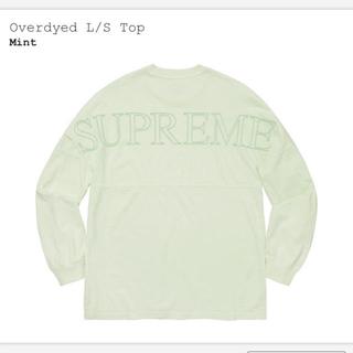 シュプリーム(Supreme)のXL Supreme Overdyed L/S Top ロンT(Tシャツ/カットソー(七分/長袖))