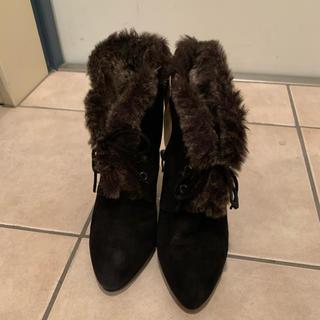 ダイアナ(DIANA)の美品 Diana ブーティ ブーツ 24cm 2018AW(ブーティ)