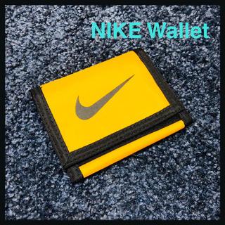 ナイキ(NIKE)のNIKE 廃盤 90s ウォレット 折りたたみ財布 財布 新品未使用 廃盤 黄色(折り財布)