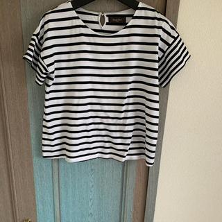 デミルクスビームス(Demi-Luxe BEAMS)のデミルクスビームス     ボーダーTシャツ(Tシャツ(半袖/袖なし))