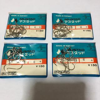 ゴーセン(GOSEN)のマスタッド製 チヌ  白 6号4袋セット (釣り糸/ライン)