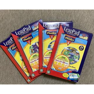 セガ(SEGA)のココパッド対応ソフト フォニックスプログラム Lesson 1〜4(知育玩具)