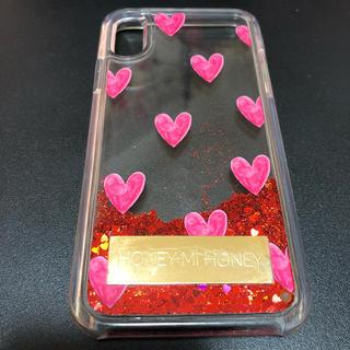 ハニーミーハニー(Honey mi Honey)のハニーミーハニー iPhone X用ケース 擦れ・傷あり 使用品(iPhoneケース)