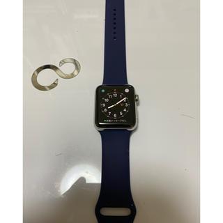アップル(Apple)のApple Watch series2 42サイズ ステンレス(腕時計(デジタル))