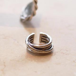 フィリップオーディベール(Philippe Audibert)のフィリップオーディベール 4ラインリング(リング(指輪))