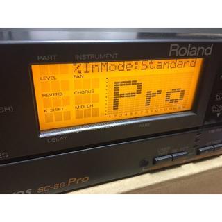 ローランド(Roland)のSC-88PRO ローランド Roland sound canvas(音源モジュール)