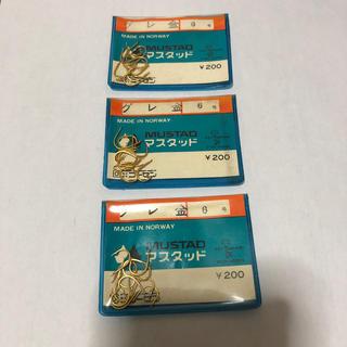 ゴーセン(GOSEN)のマスタッド製 グレ 金 6号3袋セット (釣り糸/ライン)
