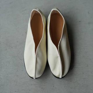新品未使用 pelleq china shoes(バレエシューズ)
