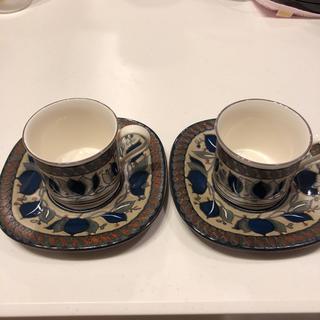 ミカサ(MIKASA)のミカサ アラベラ カップ&ソーサー ペアセット レア(食器)