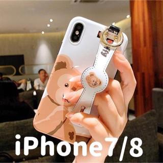 ダッフィー(ダッフィー)の【iPhone 7/iPhone8】ダッフィー ベルトカバー(iPhoneケース)
