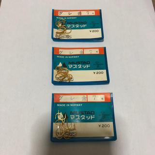 ゴーセン(GOSEN)のマスタッド製 グレ 金 7号3袋セット (釣り糸/ライン)