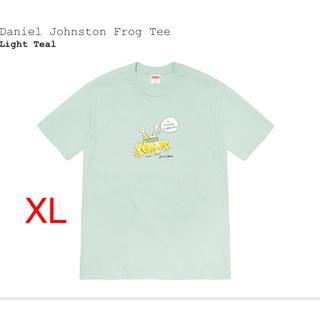 シュプリーム(Supreme)のXL Supreme Daniel Johnston Frog Tee Teal(Tシャツ/カットソー(半袖/袖なし))