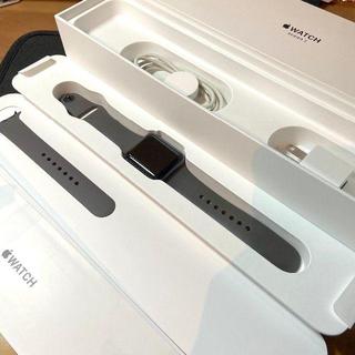 アップルウォッチ(Apple Watch)のApple Watch Series 3(GPSモデル)- 38mm 本体(腕時計(デジタル))