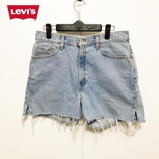リーバイス(Levi's)の【LEVI'S】512  ダメージ加工 切りっぱなし ショートパンツ(ショートパンツ)