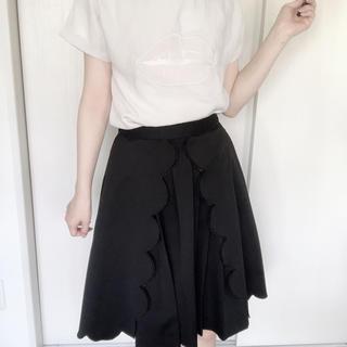 パメオポーズ(PAMEO POSE)のPAMEOPOSE プリーツスカート CLOUD SKIRT(ひざ丈スカート)