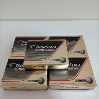 ツアーステージ(TOURSTAGE)の【お得な5点セット 】ブリヂストン TOURSTAGEゴルフボール 60個 (その他)