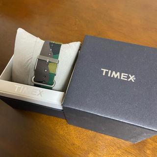 タイメックス(TIMEX)のTIMEX 腕時計のベルト 迷彩柄(腕時計(アナログ))