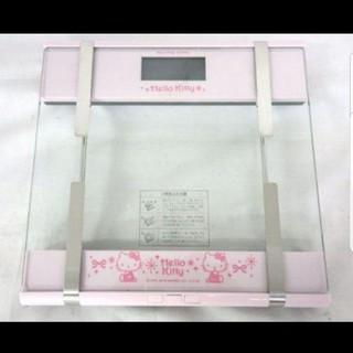 サンリオ(サンリオ)のハローキティ 体組成計 体重計 非売品   サンリオ当りクジ 新品 未開封 箱入(体重計/体脂肪計)