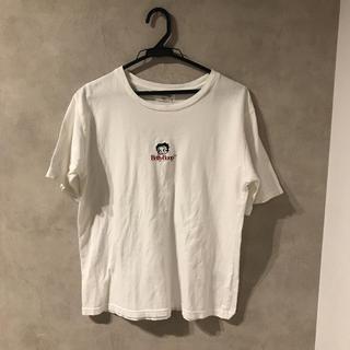 オールドベティーズ(OLD BETTY'S)のbetty ベティー Tシャツ 古着 betty boop(Tシャツ(半袖/袖なし))