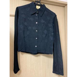 アツロウタヤマ(ATSURO TAYAMA)のA/T#ブラックレースシャツ(シャツ/ブラウス(長袖/七分))