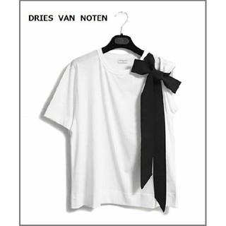 DRIES VAN NOTEN - 人気商品! 新品★ドリスヴァンノッテン 20SS リボンディテール Tシャツ S