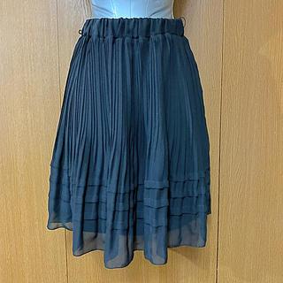 シマムラ(しまむら)のチュールスカート 黒(ミニスカート)