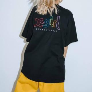 エックスガール(X-girl)のx-girl Web限定ロゴTシャツ(Tシャツ(半袖/袖なし))