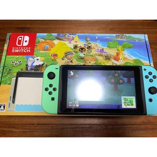 ニンテンドースイッチ(Nintendo Switch)のニンテンドースイッチ どうぶつの森 同梱版(家庭用ゲーム機本体)
