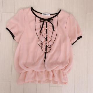 ギャルフィット(GAL FIT)のピンクブラウス(シャツ/ブラウス(半袖/袖なし))