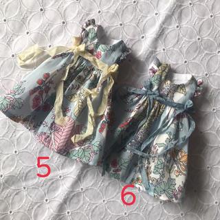 小さな袖のワンピース⑤(人形)