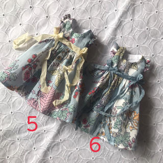 小さな袖のワンピース⑥(人形)