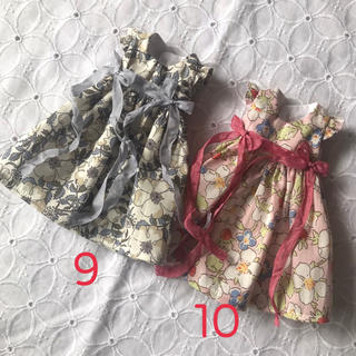 小さな袖のワンピース10(人形)