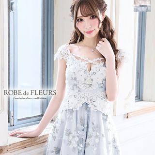 デイジーストア(dazzy store)の【ROBE de FLEURS】ミニドレス(ミニドレス)