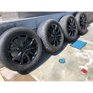 MAK マッドブラック 16インチ 4本セット ケルン アルミホイール(タイヤ・ホイールセット)