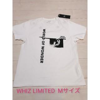 ウィズ(whiz)の【未使用】WHIZ LIMITED ウィズリミテッド Tシャツ 白 メンズ(Tシャツ/カットソー(半袖/袖なし))