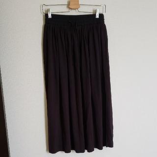 ジーユー(GU)のGU 黒スカート Lサイズ(その他)