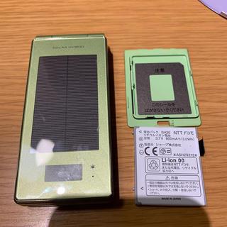 シャープ(SHARP)のSH-08A ドコモ 携帯電話(携帯電話本体)