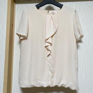 アオヤマ(青山)の青山 n-line precious  フリルシフォンブラウス(シャツ/ブラウス(半袖/袖なし))