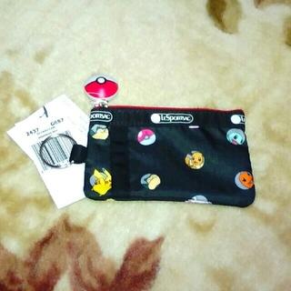 レスポートサック(LeSportsac)の【まみこ様専用】Pokemon&LeSportsac  IDカードケース (パスケース/IDカードホルダー)