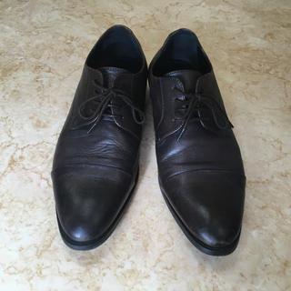 スーツカンパニー(THE SUIT COMPANY)のビジネスシューズ 革靴(26.5cm)焦げ茶色(ドレス/ビジネス)