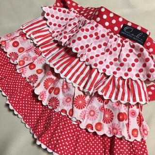 ウーヴィーベビー(Oobi BABY)のOobi ウービベビー フリルスカート 80サイズ 赤系 1/2Y かわいい(スカート)