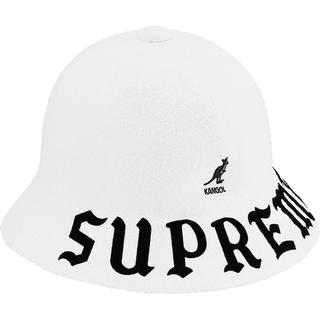 シュプリーム(Supreme)の未開封 XL Kangol Bermuda Casual Hat White(ハット)