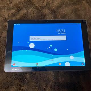 エルジーエレクトロニクス(LG Electronics)のau Qua tab PZ 10インチ Android7.0 ネイビー(タブレット)