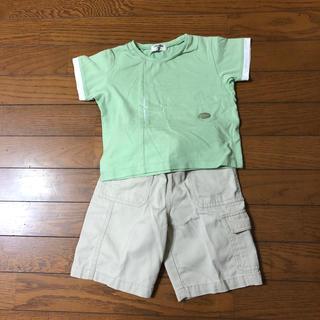COMME CA DU MODE - コムサのシャツとパンツのセット 100
